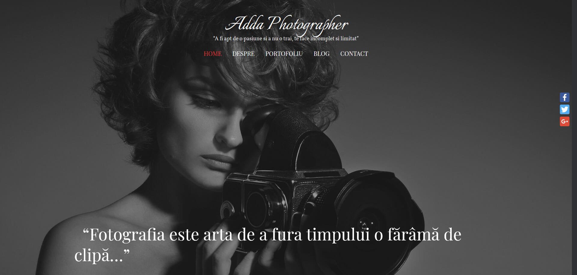 Adda Photographer- Fotograf Braila